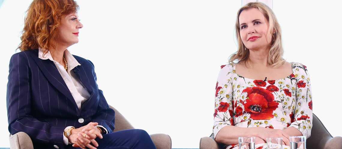Geena Davis et Susan Sarandon: Plus Thelma et Louise que jamais!