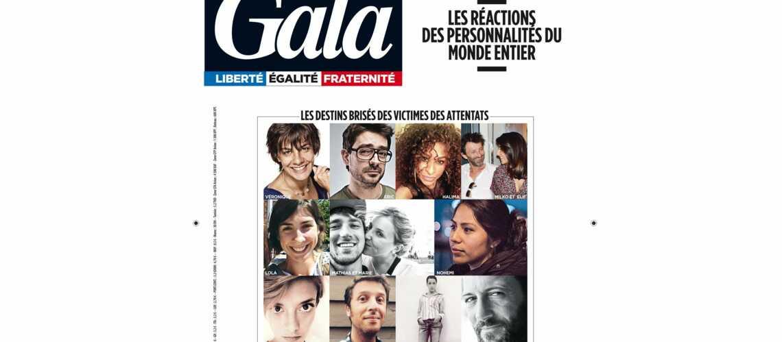 A la une de Gala: les destins brisés des victimes des attentats