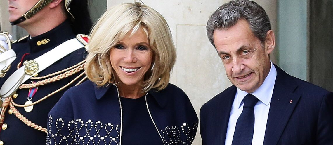 Nicolas Sarkozy ne veut pas faire d'ombre à Brigitte Macron même quand il s'agit d'un panda