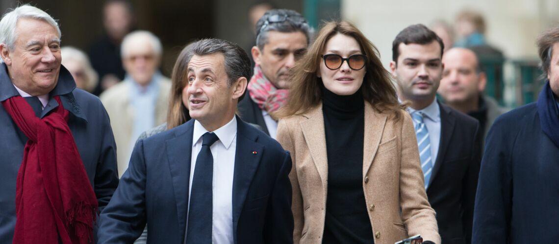 PHOTOS – Carla Bruni et Nicolas Sarkozy, Daphné Burki et Gunther Love, ces femmes qui prennent leur homme de haut