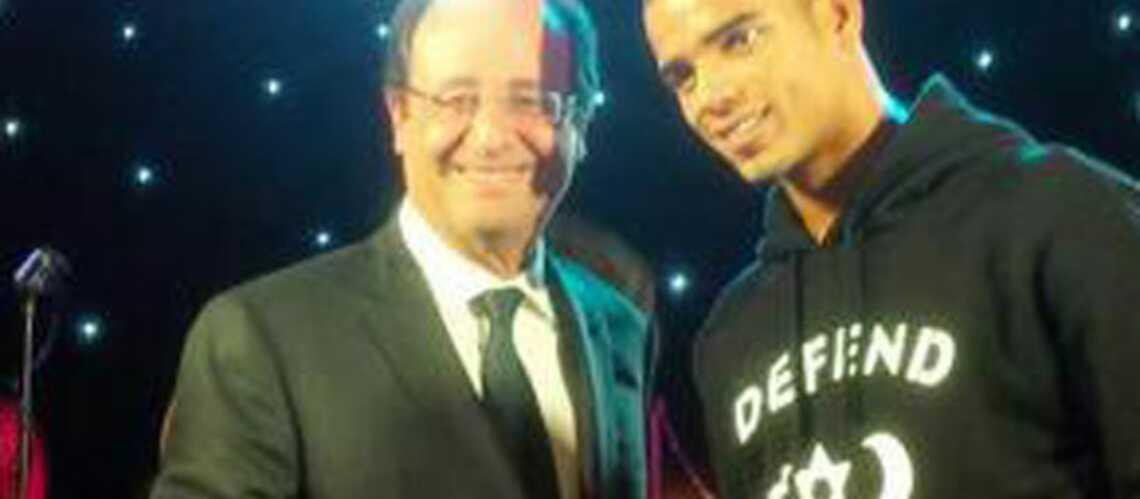 Brahim Zaibat se console de Madonna avec François Hollande