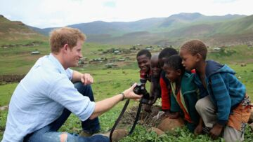 Le prince Harry, photographe au Lesotho