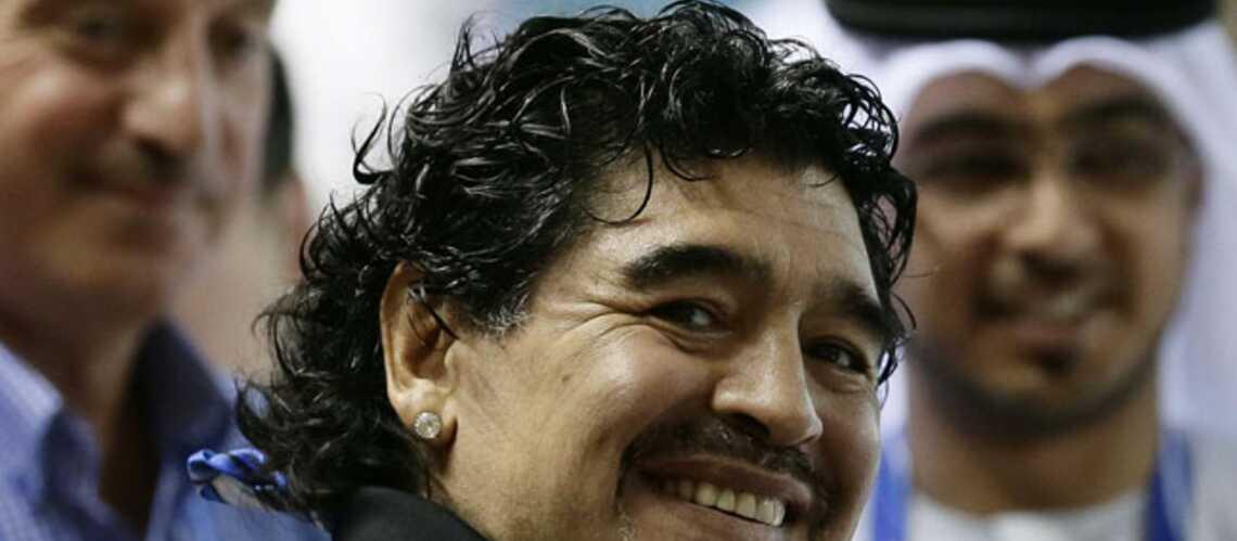 Diego Maradona: papa pour la cinquième fois!
