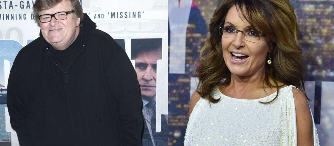 Michael Moore VS Sarah Palin, du tweet à l'insulte