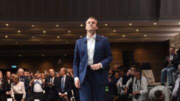 Emmanuel Macron papy gâteau, il adore gâter ses petits enfants