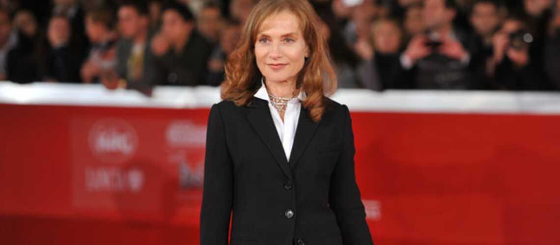 Isabelle Huppert l'élégance tranquille