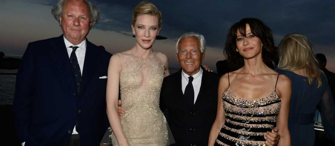 Cannes By Night: Cate Blanchett et Sophie Marceau rayonnantes à la Vanity Fair and Armani Party