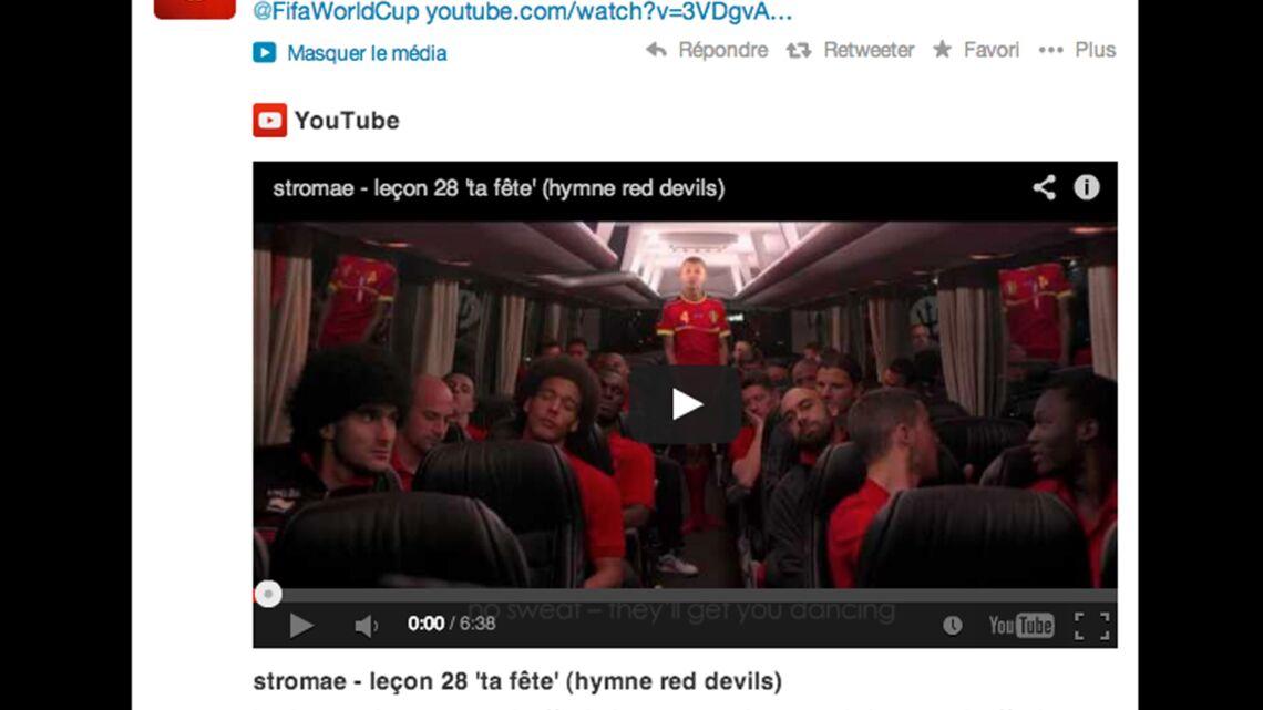 Video – Stromae rejoint l'équipe de football de Belgique