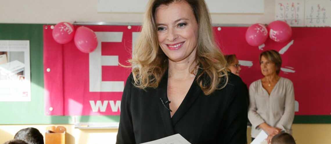Valérie Trierweiler retombe en enfance pour ELA