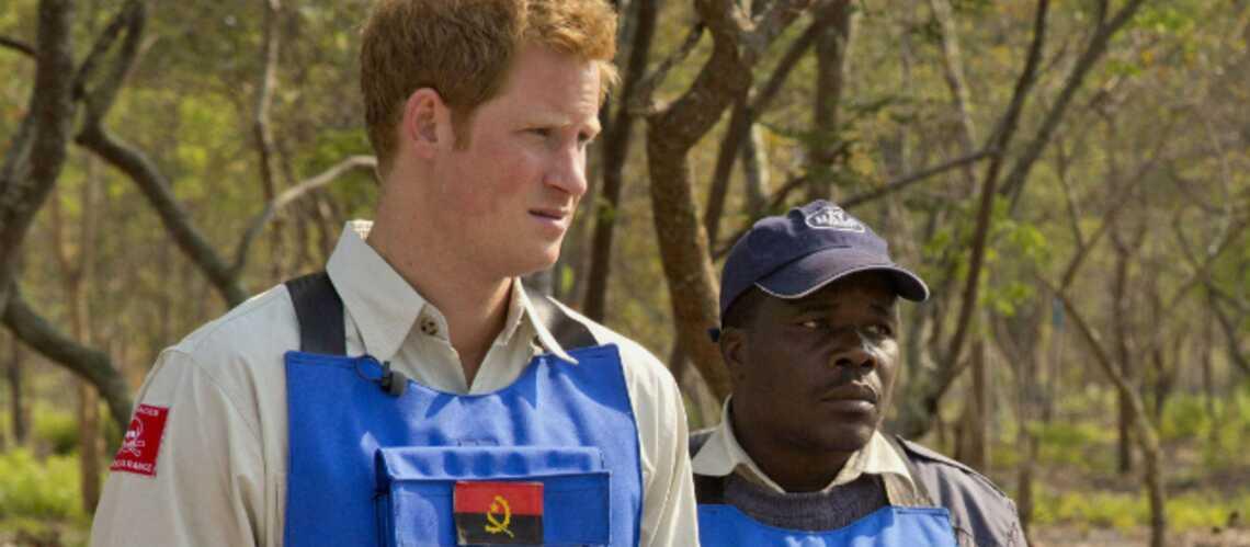 Harry poursuit l'oeuvre de la princesse Diana en Angola
