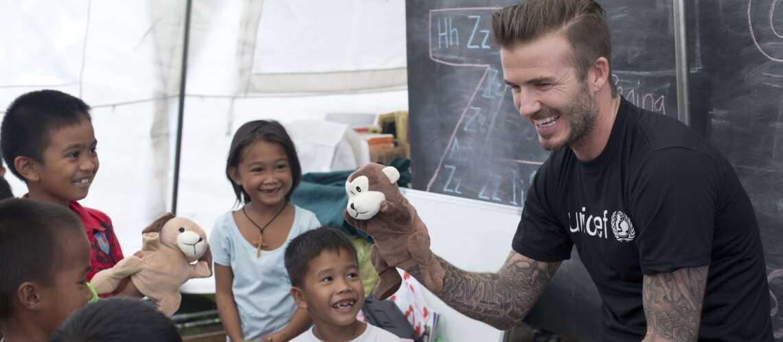 David Beckham: star au grand coeur pour les Philippines