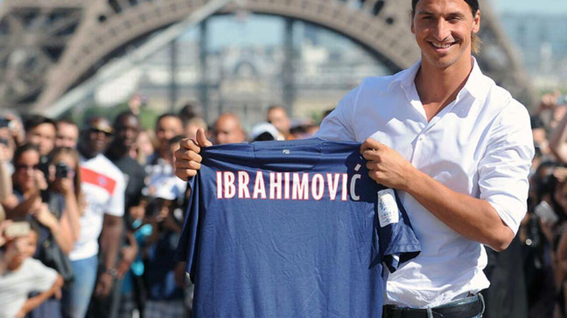 Tapis rouge à Zlatan Ibrahimovic au PSG