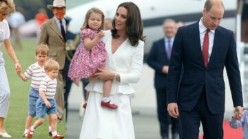 PHOTO – Kate Middleton s'inspire de Lady Di et donne à la princesse Charlotte les chaussures rouges du prince Harry