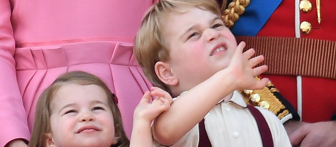 PHOTOS – Le prince George en fait voir de toutes les couleurs à sa nounou