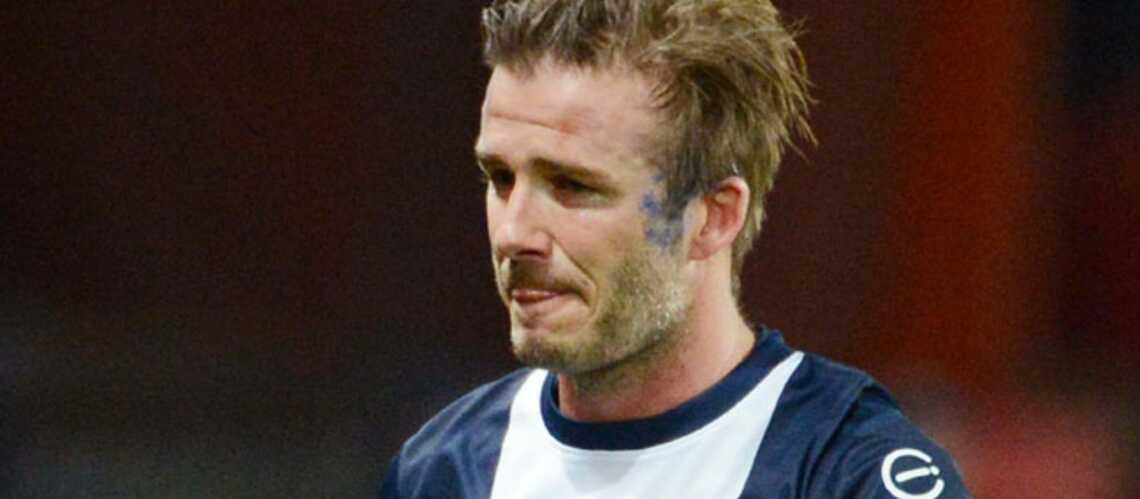 David Beckham: ému aux larmes pour son dernier match