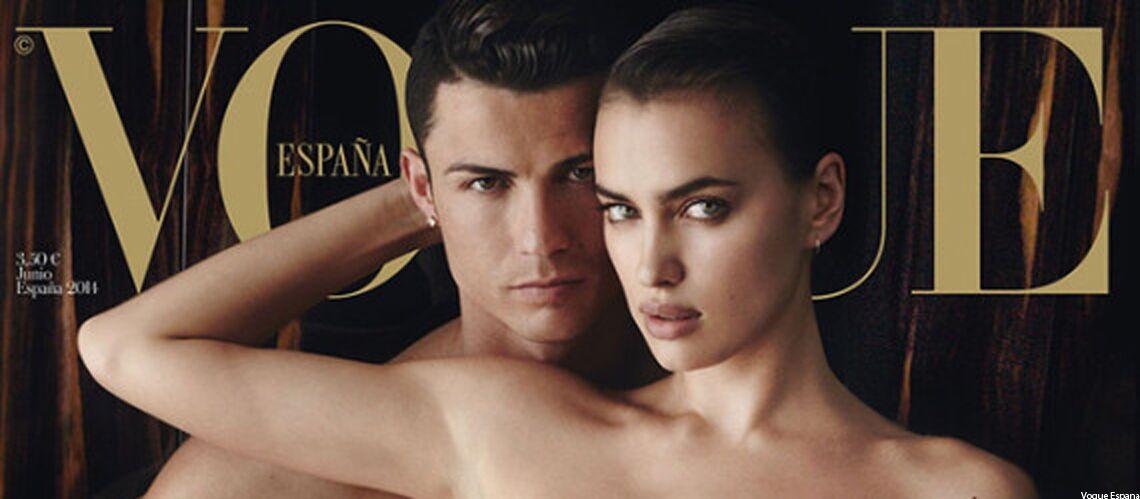 Cristiano Ronaldo, dénudé en couverture de Vogue
