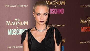 PHOTOS – Cara Delevingne se la joue gothique chic à Cannes