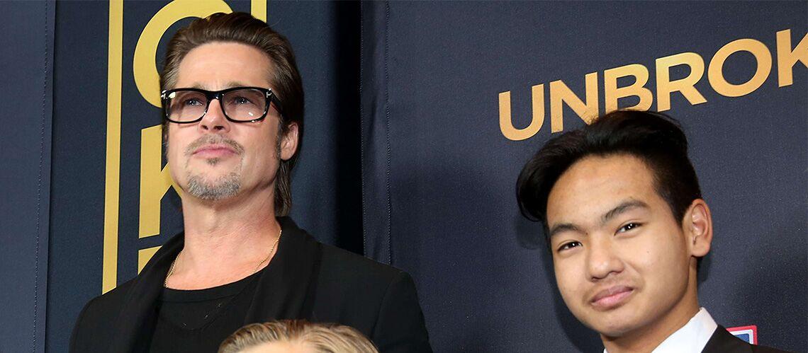 Brad Pitt: son fils, Maddox, refuse de le voir