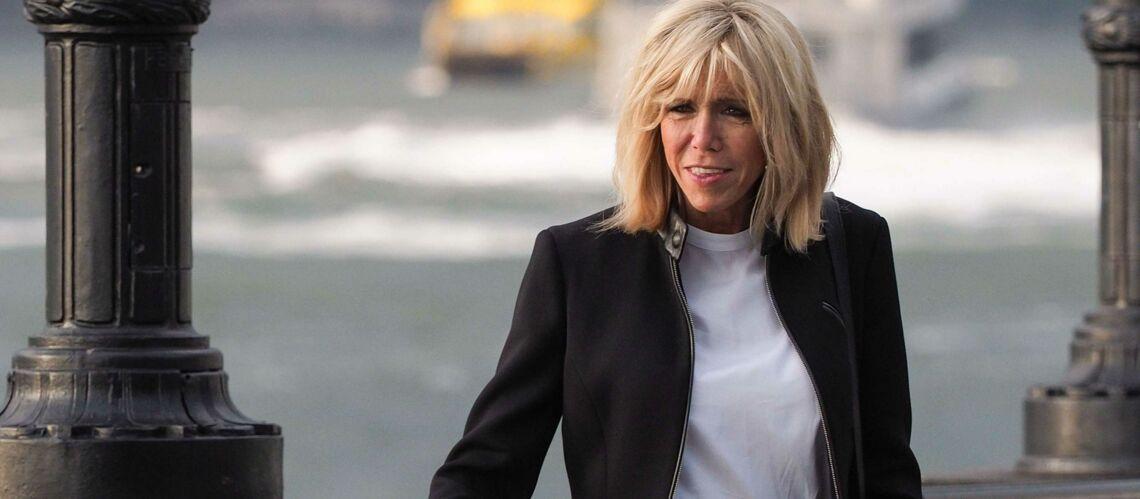 PHOTOS – En visite à New York, Brigitte Macron fait sensation
