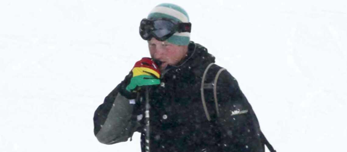 Le prince Harry au ski avec Cressida Bonas