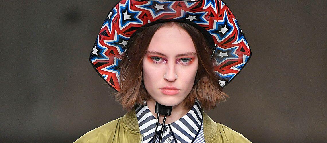 Tendance maquillage: les yeux très colorés omniprésents sur les podiums