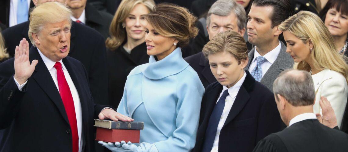 PHOTO – Barron Trump: son attitude pendant l'investiture de Donald Trump relance la polémique