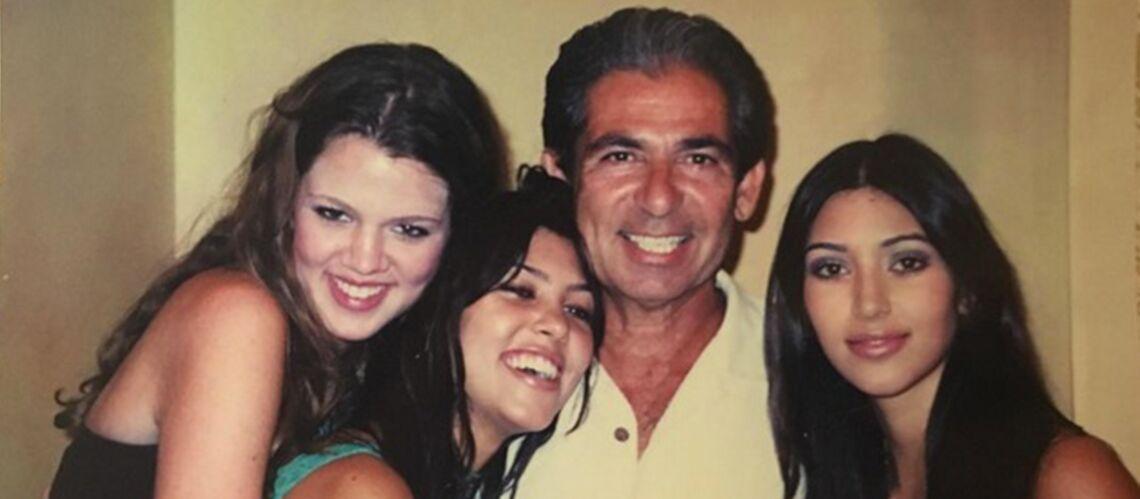 PHOTOS – Kim Kardashian: des photos de famille inédites publiées en hommage à leur père mort