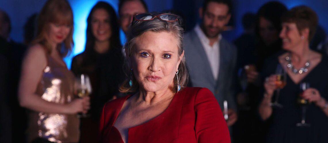 L'autopsie de Carrie Fisher dévoilée: l'actrice de Star Wars avait un cocktail de drogues dans le sang