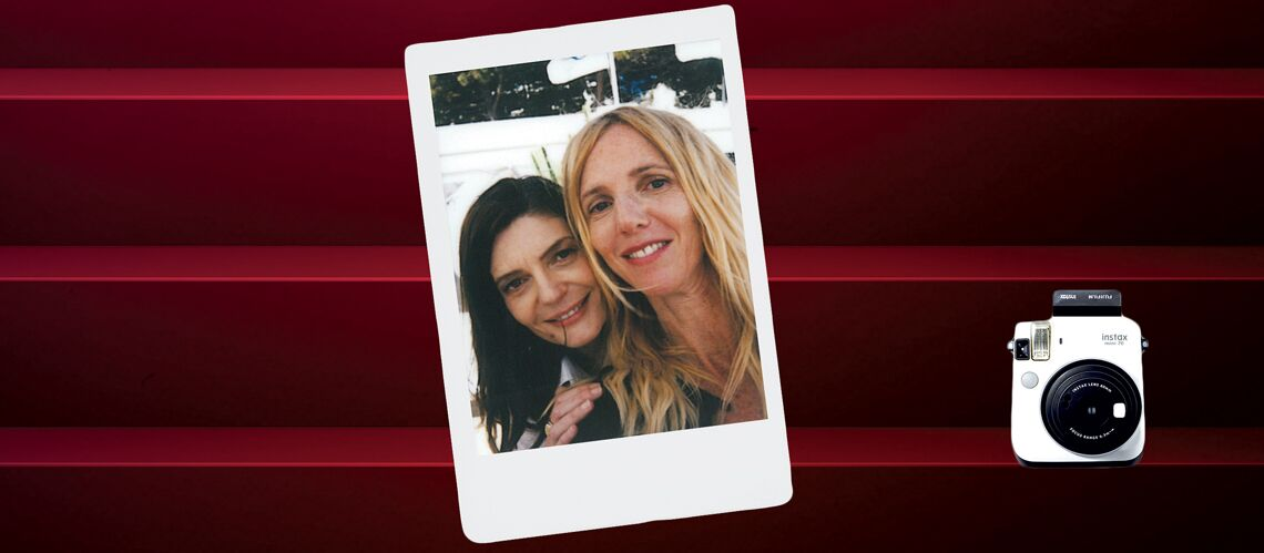 Cannes Backstage by Instax – Chiara Mastroianni et Sandrine Kiberlain, duo gagnant!