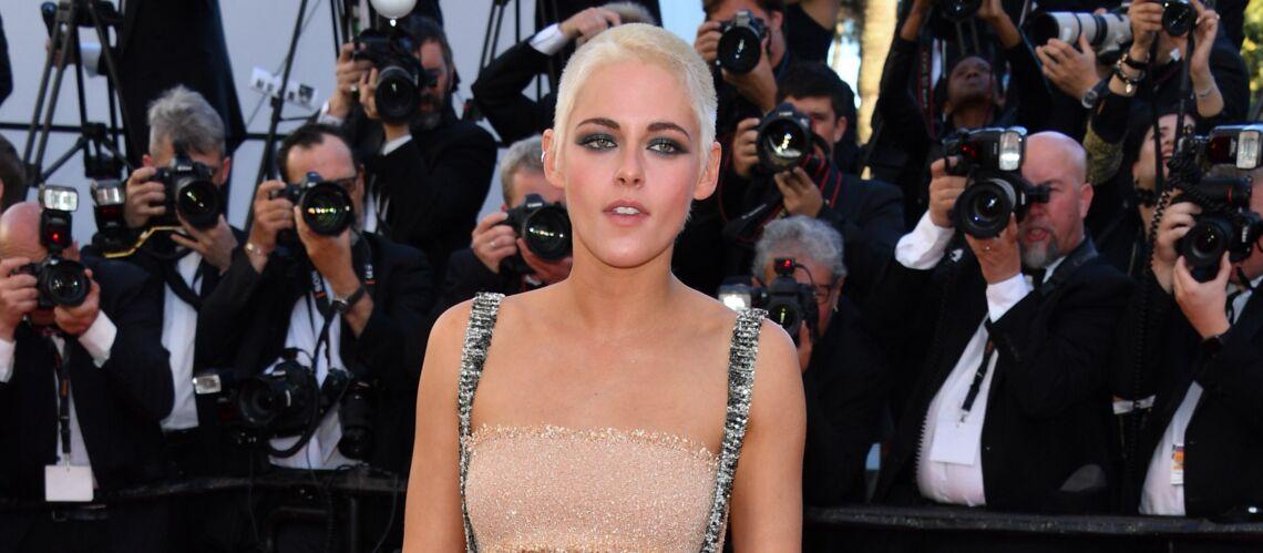 PHOTOS – Cannes 2017: Kristen Stewart, le crâne rasé et péroxydé sur le tapis rouge et tous les looks de la montée des marches du 20 mai