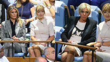 PHOTOS – Brigitte Macron et Melania Trump aux Nations Unies: leurs looks de working girls