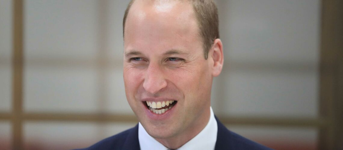 Le prince William ironise sur sa calvitie