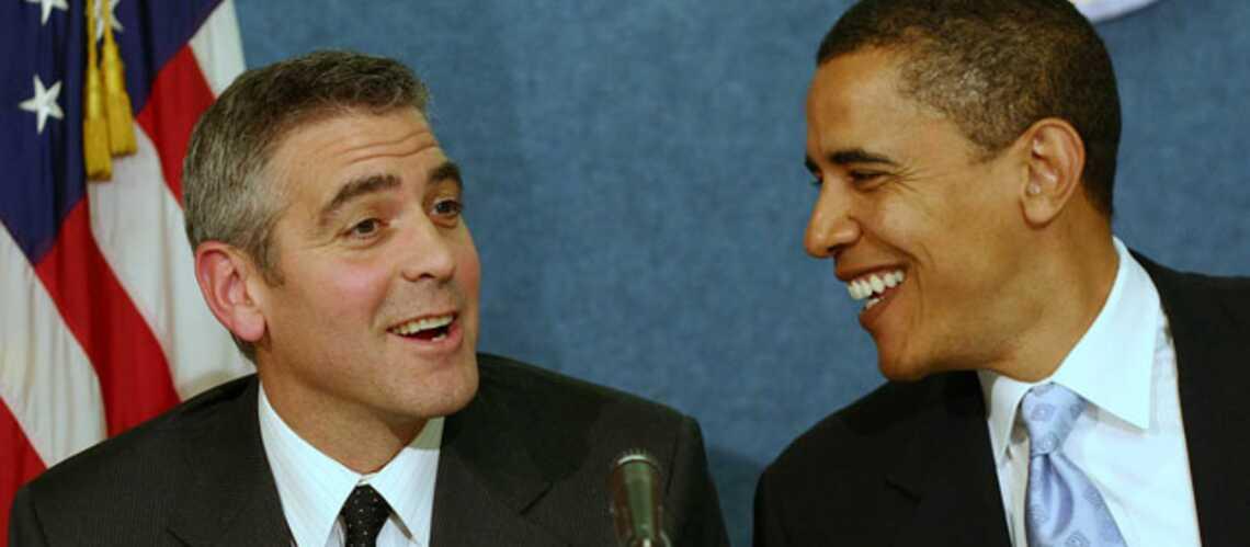 Barack Obama, fan de George Clooney
