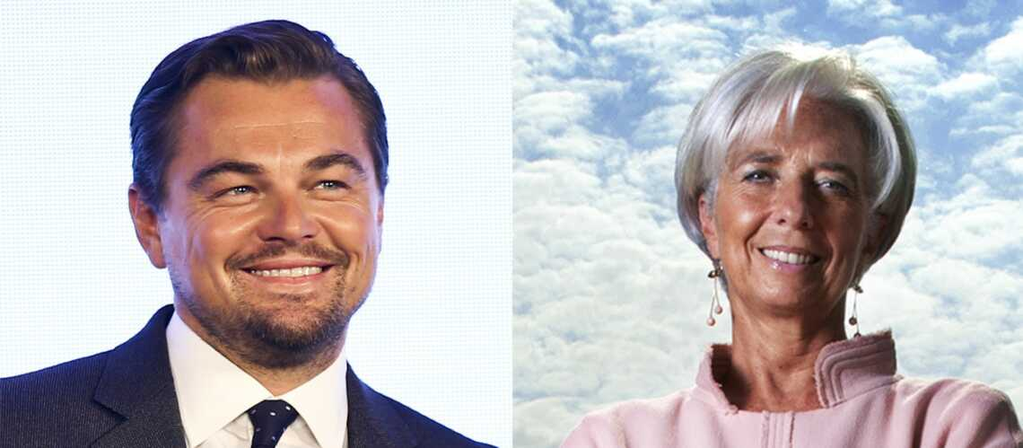 Quel est le point commun entre Leonardo DiCa­prio et Chris­tine Lagarde?