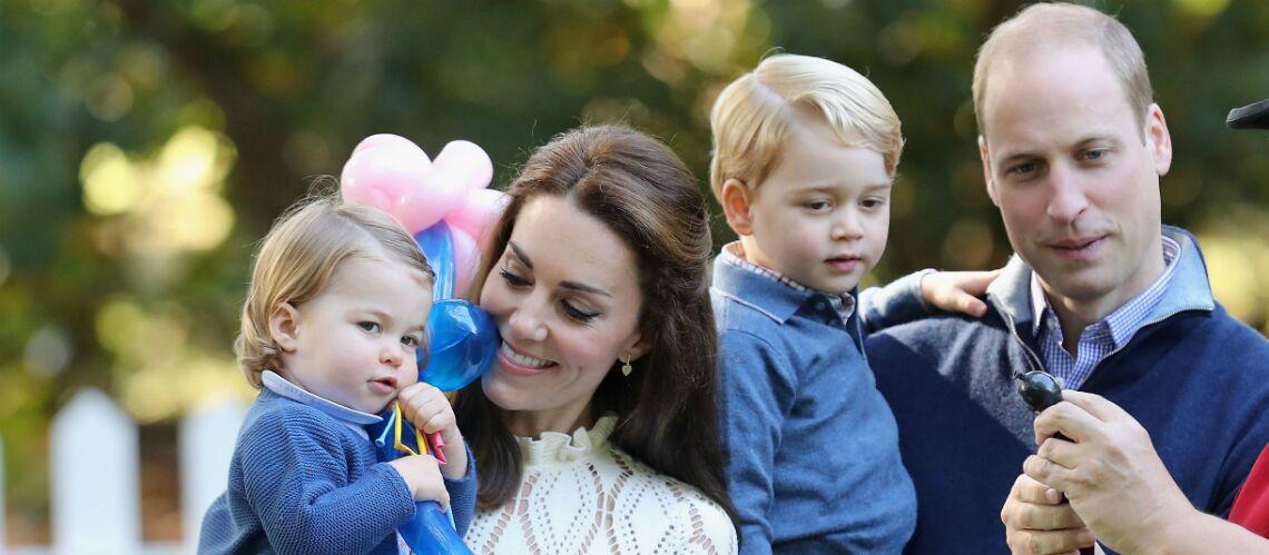 Le cadeau «fait maison» du prince George et de Charlotte pour les 91 ans d'Elisabeth II