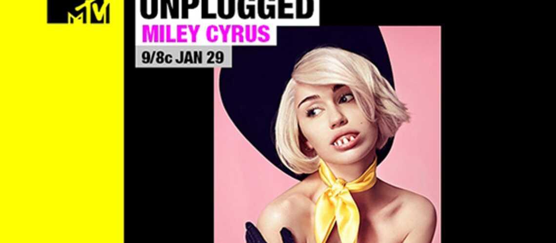 Miley Cyrus se dévoile en acoustique