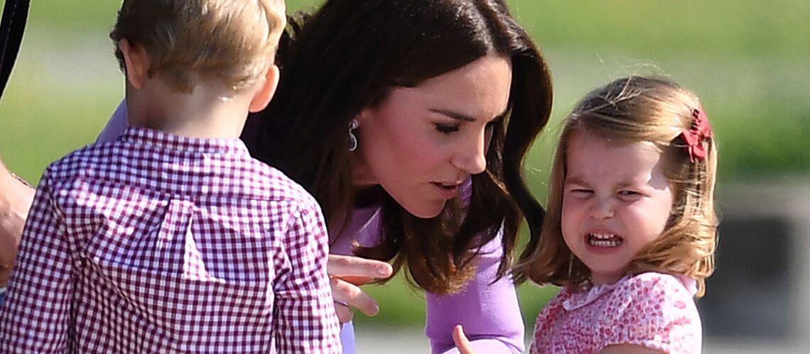 PHOTOS – Le gros caprice de la princesse Charlotte, sa mère Kate Middleton dépassée
