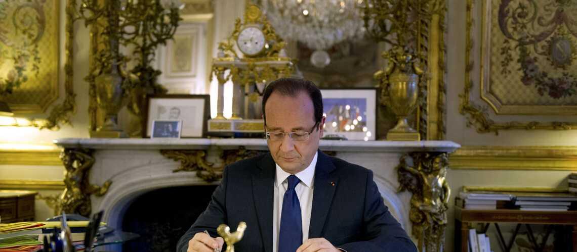 François Hollande, très cliché