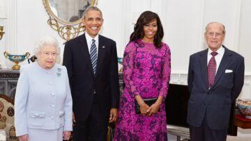 Michelle Obama: son hommage discret à Prince auprès de la reine