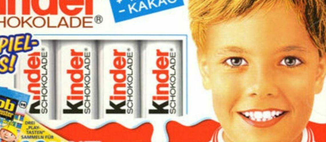 PHOTO -Découvrez le célèbre garçon des paquets de Kinder 30 ans après