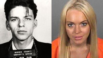 De Frank Sinatra à Lindsay Lohan: souriez, vous êtes arrêtés!