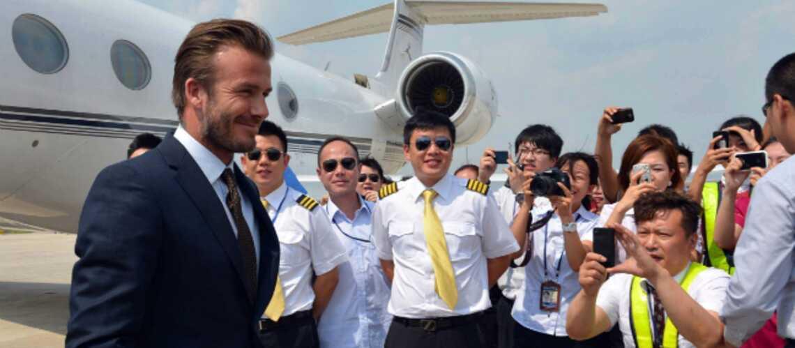Photos- La tournée chinoise de David Beckham
