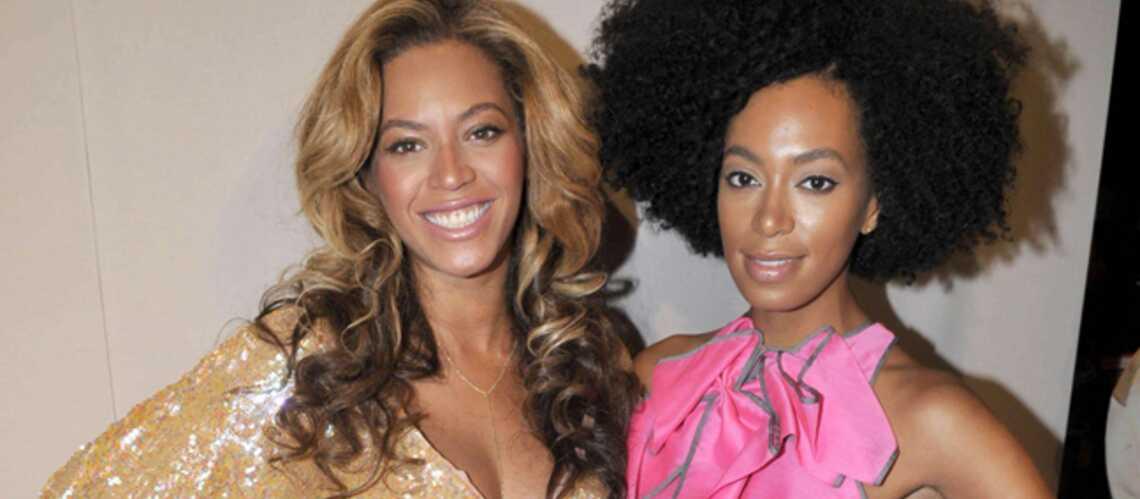 Beyoncé et Solange Knowles: le concours de tatie gâteau