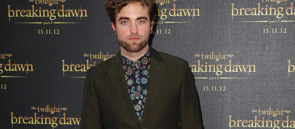 T'as le look… Robert Pattinson!