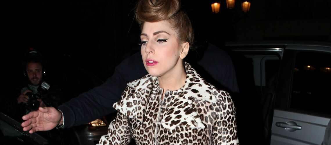 Lady Gaga sur la scène du Stade de France