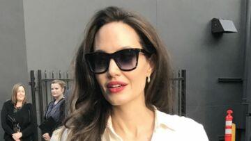 Angelina Jolie envoie balader un journaliste qui lui parle de Brad Pitt