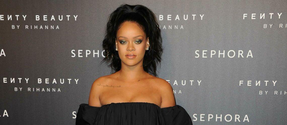 PHOTOS – Rihanna sublime à Paris pour le lancement de Fenty Beauty