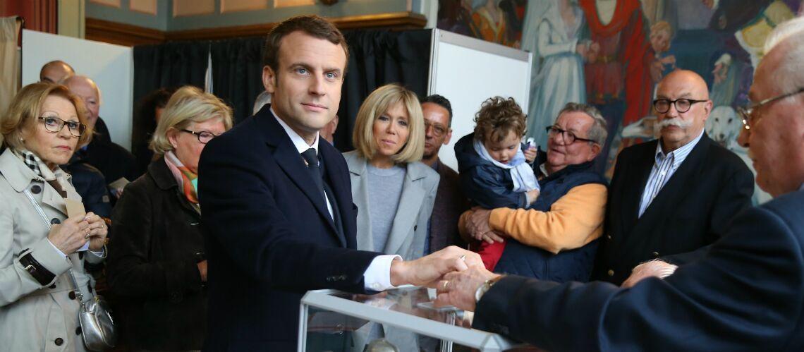 PHOTOS – Emmanuel Macron a voté là où il s'est marié en 2007