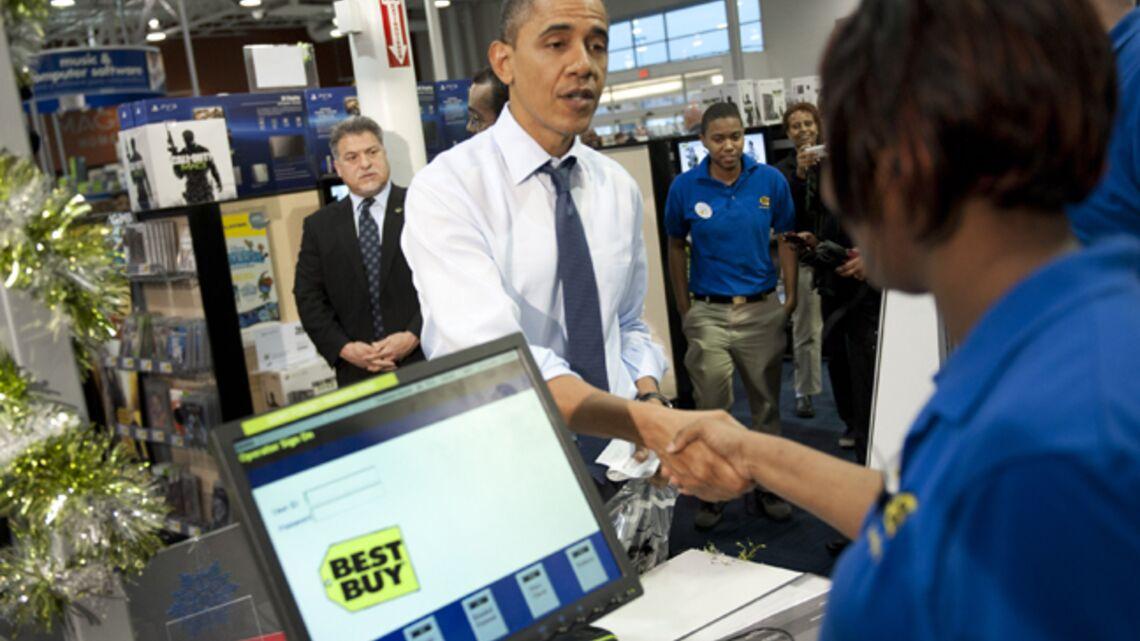 Les courses de Noël de Barack Obama
