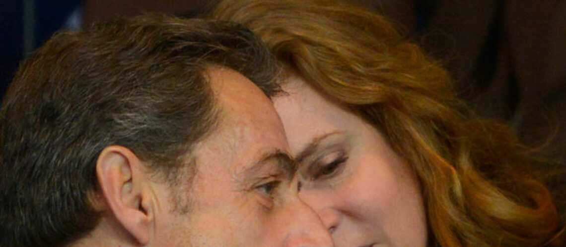 Retrouvailles entre NKM et Nicolas Sarkozy au parc des princes